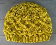 Free Knitting Pattern: Frivol Hat, by Debi Tuttle