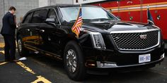 Meet the new armored Cadillac limousine that just debuted during Trump's visit to New York.