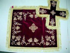 Design 810 chalice veil set