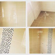 #sdbtilingltd #lb_interiors #ensuite #gloss #mosaic #creme #coffee #wetroom Wet Rooms, Tiling, Decor Interior Design, Tile Floor, Mosaic, Interiors, Coffee, Kaffee, Mosaics