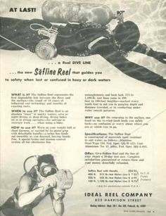Ideal Reel Ad, Dive History
