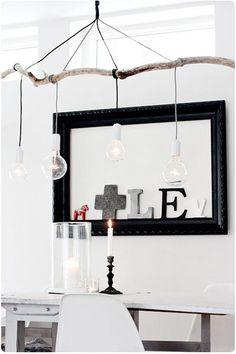 Use similar set up for hanging kokedama.