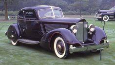 1934 Packard Twelve Lebaron coupe #1001   by carphoto