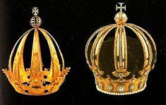 História do Brasil coroa de Pedro I e Pedro II