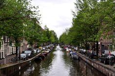 Grachten in Amsterdam #Amsterdam #Niederlande #Holland #travel