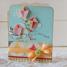 The Sky is the Limit Handmade Greeting Card
