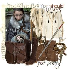 """""""Game of Thrones"""" by claudiakohl on Polyvore"""