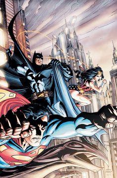 Superman, Batman y Mujer Maravilla