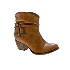 Mia Outlaw Western Ankle Boot