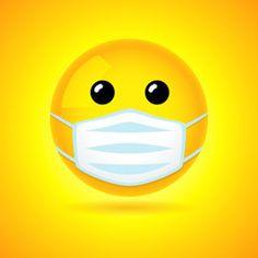 Emoji with mask stock photos, royalty-free images, vectors, video Vector Pop, Man Vector, Bird Drawings, Cartoon Drawings, Emoji Mask, Smile Icon, Pop Art Women, Medical Icon, Cartoon Man