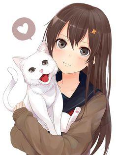 neko to cute girl