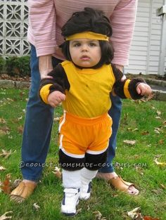 Adorable Baby Teen Wolf Costume... Coolest Halloween Costume Contest