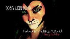 lion make up - YouTube