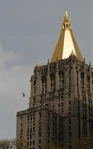 NYC GoldTop The New York Life Insurance Building