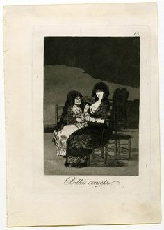 Bellos consejos. Los Caprichos de Goya