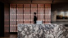 Domaine Chandon by Foolscap Studio - Australian Interior Design Awards Bar Design Awards, Interior Design Awards, Bar Interior, Commercial Interior Design, Commercial Interiors, Restaurant Bar, Restaurant Design, Restaurant Interiors, Restaurant Lighting
