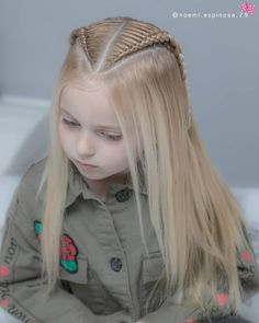 Check out these cute and beautiful braided hairstyles for little girls, from the simple and easy, to the more intricate and imaginative. hairstyle 30 Cute Braided Hairstyles for Little Girls Cute Braided Hairstyles, Box Braids Hairstyles, Pretty Hairstyles, Hairstyle Ideas, Hairstyles For Kids, Cute Little Girl Hairstyles, 1940s Hairstyles, Hairstyles 2018, Latest Hairstyles