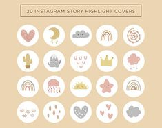 Story Instagram, Free Instagram, Instagram Highlight Icons, Social Media Icons, Art Plastique, Image Icon, Bubble, Story Highlights, Cute Stickers