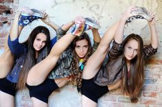 N-dolls talented trio dance photoshooting commercial photography www.novumdance.sk