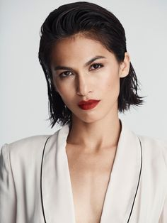 Elodie Yung, Woman Face, Hair Inspo, Bollywood Actress, Beautiful People, Short Hair Styles, Take That, Photoshop, Amor