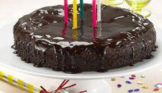 Gâteau d'anniversaire au chocolat #dessert #enfants