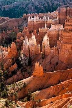 Beautiful USA * Scenic view of Bryce Canyon Southern Utah