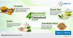 Go herbal to keep your cholesterol in check. It's the best health mantra. #HealthTips