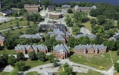 Norwich State Hospital ~All of it is the hospital, plus many more buildings and residences not shown.