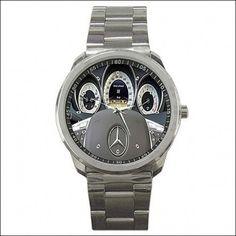 Mercedez Benz c350 Sedan Steering Wheel Sport metal Watch