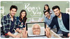 Kapoor & Sons Gallery. Bollywood Movie Kapoor & Sons Stills. Directed by , Shakun Bat, Starring , Sidharth Malhotra, Alia Bhatt, Fawad Afzal Khan, Rishi Kapo