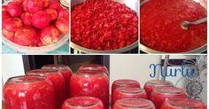 kış hazırlıkları,domates konservesi nasıl yapılır?,kışlık domates nasıl yapılır?,kolay konserve tarifi.