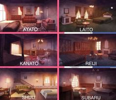 Diabolik lovers room's<<<That moment when you realize Ayato sleeps in an iron maiden.