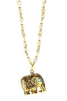 Thai Royal Elephant Necklace Ma would love this. Diy Jewellery, Jewelry Box, Jewlery, Girls Accessories, Jewelry Accessories, Elephant Necklace, Royal Jewels, Girl Swag, Casual Chic Style