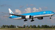 KLM Boeing 777-300ER Free Airplane Paper Model Download