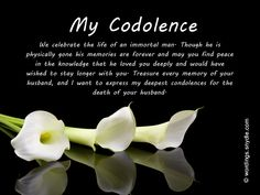 sympathy messages for loss of husband wordings and messages rh pinterest com