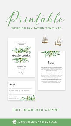 Birds Of A Feather Free Wedding Templates Diy
