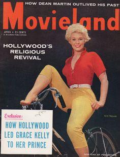 April 1956. Kim Novak.