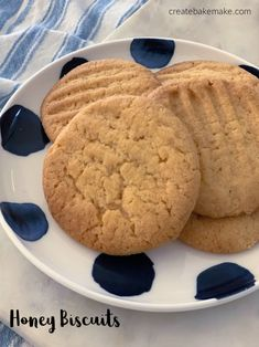 This simple Honey Biscuits contain just five ingredients and are perfect for filling up your biscuit tin! Both regular and Thermomix instructions included.