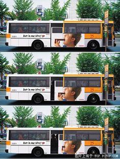 Bus Advertising - One Bite