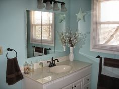 Soothing Master Bath, This is the first room weve redone in our new home to make it feel more like ours!!!, , Bathrooms Design