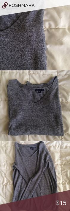 American Eagle Longsleeve Top In brand new condition, barely worn. A perfect V-neck long sleeve. This top is made with 55% Cotton, 20% polyester, & 15% Acrylic. This top is very soft!  No holes or stains. No Trades  No Paypal American Eagle Outfitters Tops Tees - Long Sleeve