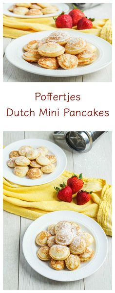 Poffertjes (Dutch Mini Pancakes) – Tara's Multicultural Table – Famous Last Words Breakfast Desayunos, Breakfast Recipes, Dessert Recipes, Mini Pancakes, Dutch Desserts, Pennsylvania Dutch Recipes, Netherlands Food, International Recipes, Food And Drink