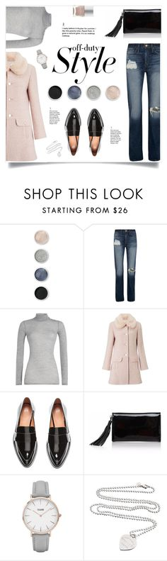"""Off Duty Style"" by yummymummystyle ❤ liked on Polyvore featuring Terre Mère, J.Crew, Balmain, Miss Selfridge, Joanna Maxham, CLUSE, Tiffany & Co., Nails Inc. and wintercoat"