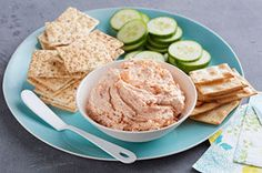 Keep two ingredients on hand and you'll always have a delicious salmon appetizer spread that's just minutes away from serving.