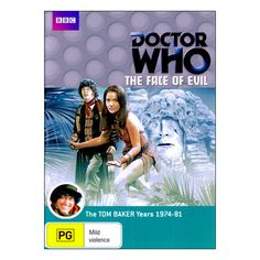 Doctor Who:The Face of Evil DVD Brand New Region 4 Aust.  Tom Baker