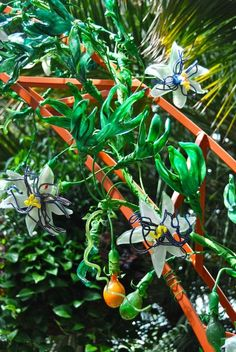Glass passion flower at Phipps Conservatory ~WMG