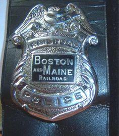 Boston & Maine Railroad Police
