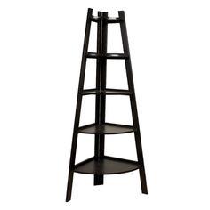 "Found it at Wayfair - 63"" Corner Ladder Bookcase http://www.wayfair.com/daily-sales/p/Streamlined-%26-Stylish-Entryway-63%22-Corner-Ladder-Bookcase~DNB1873~E21111.html?refid=SBP.rBAZEVUPLkhK83ECdD_qAmCqdEF6ak9EokmnY5dew8I"