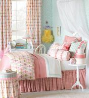 Matilda Ballet Bedding Set SHOP NOW- Waugh Interior Designs. You will love the accent pillows.  Be sure to Join Newsletter List!