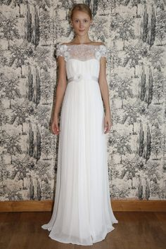 Casual Hippie Wedding Dresses An off shoulder gown is a